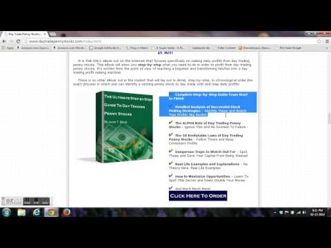 STOCK MARKET GAME - HOW TO EARN FROM PENNY STOCKS