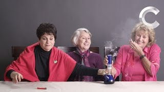 Strange Buds | Grandmas Smoking Weed for the First Time | Ep 2