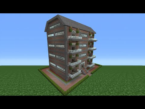 Minecraft Tutorial: How To Make An Apartment Complex