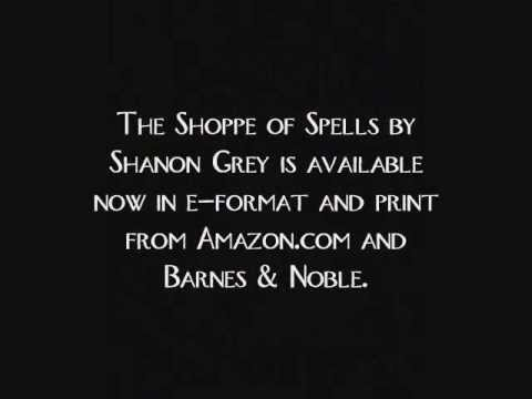 New Book Trailer for The Shoppe of Spells