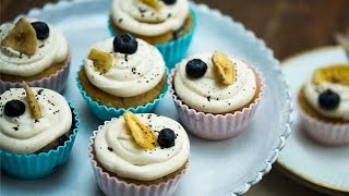 Gluten Free Blueberry & Banana Muffins with Juliet Sear