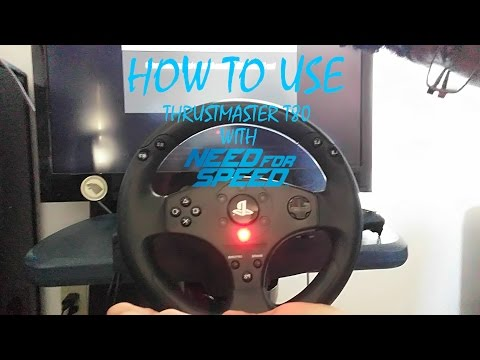How to Use Thrustmaster T80 with Need For Speed [PS4]