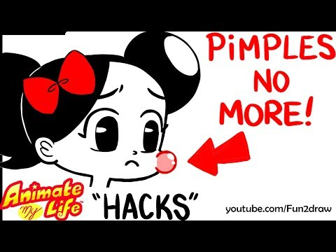 10 Ways to Get Rid Of PIMPLES! | Animate My Life HACKS