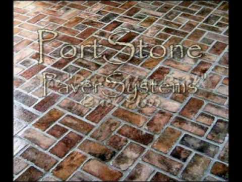 Portstone Brick Flooring Video Youtube