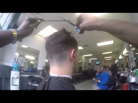 Medium Fade Men's Haircut Alexandria VA