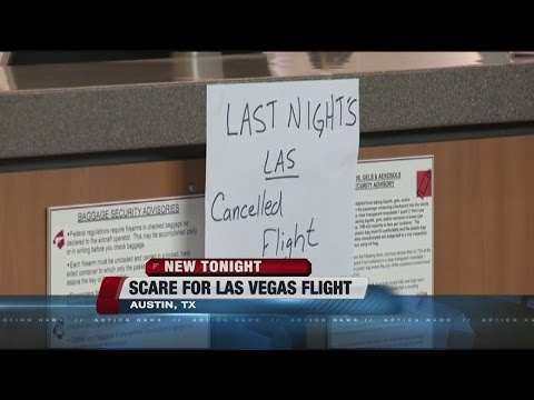 Passengers on flight from Austin to Las Vegas face travel nightmare