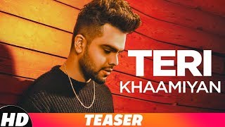 Teaser |Teri Khaamiyan| AKhil | Jaani | B Praak | Releasing On 19th Oct 18 on 10am | Speed Records