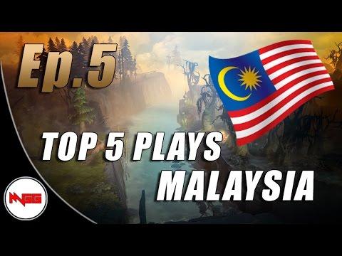 TOP 5 PLAYS MALAYSIA - Ep.5 | Dota 2
