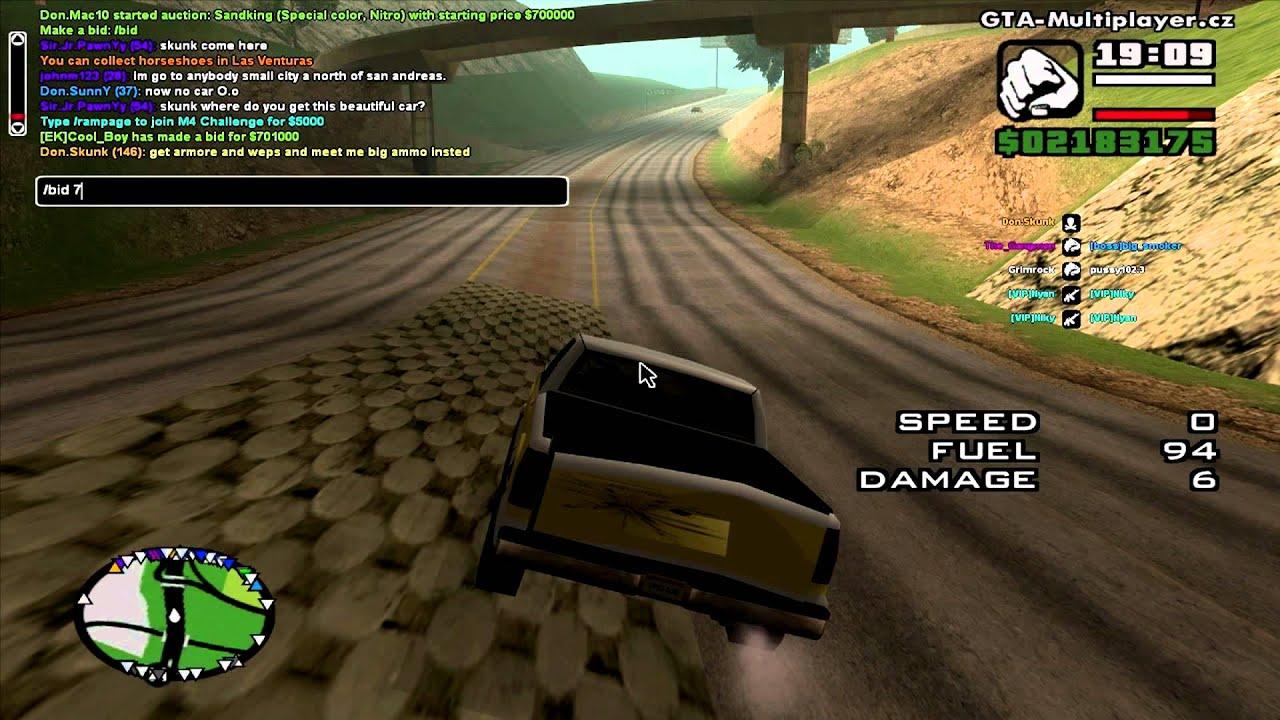 Grand Theft Auto San Andreas Multiplayer 0.3E download