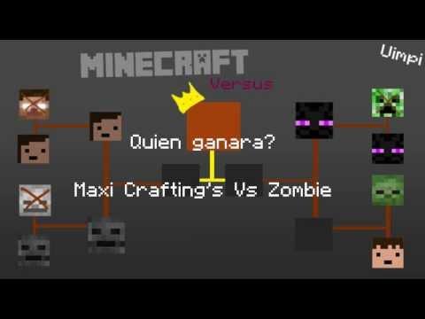 Minecraft Versus:Enderman Vs Creeper