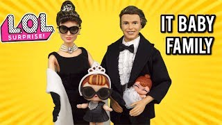 The LOL IT Baby Family - Custom Barbie Doll Lol Surprise Families