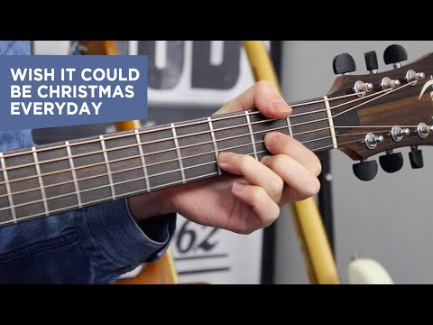 Wish It Could Be Christmas Everyday Chords (how To Play) Easy Guitar Lesson Christmas Songs video