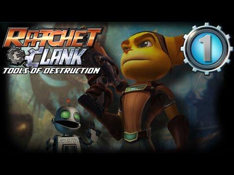 Ratchet & Clank Opération Destruction Let's Play - Ep 1 : Capitaine Qwark en Danger