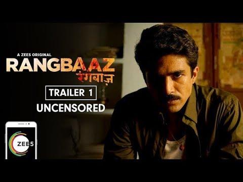Rangbaaz   Uncensored Trailer   A ZEE5 Original   Saqib Saleem   Premieres 22nd December On ZEE5