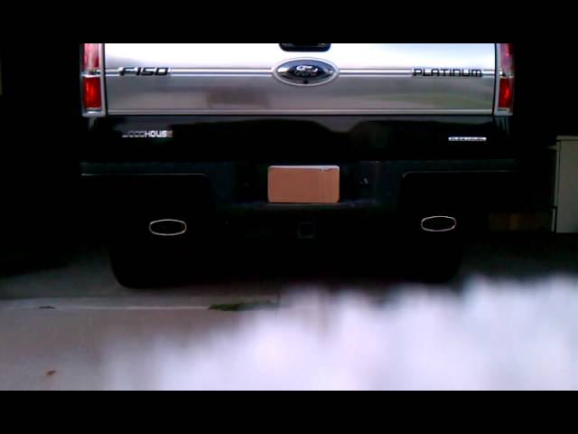 2011 Ford F150 Platinum Flowmaster Exhaust