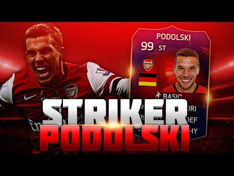 ARSENAL STRIKER PODOLSKI! FIFA 15 ULTIMATE TEAM