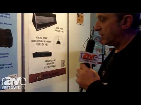 Integrate 2016: EAV Technology Showcases the intelix Skyplay Wireless HDMI Distribution System