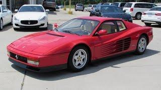 1990 Ferrari Testarossa Start Up, Exhaust, and In Depth Review