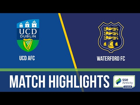 GW9: UCD 4-1 Waterford