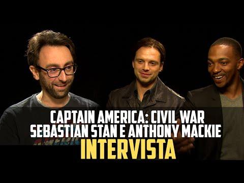 Captain America: Civil War - BadTaste.it intervista Anthony Mackie e Sebastian Stan