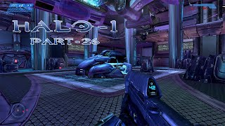 Halo Combat Evolved | Walkthrough Part - 26 | Upstairs, Downstairs