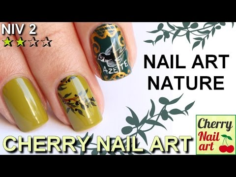 Nail art provençal avec The body shop