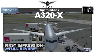 Prepar3d Flight Sim Labs Fslabs Airbus A320  First Impression And Review