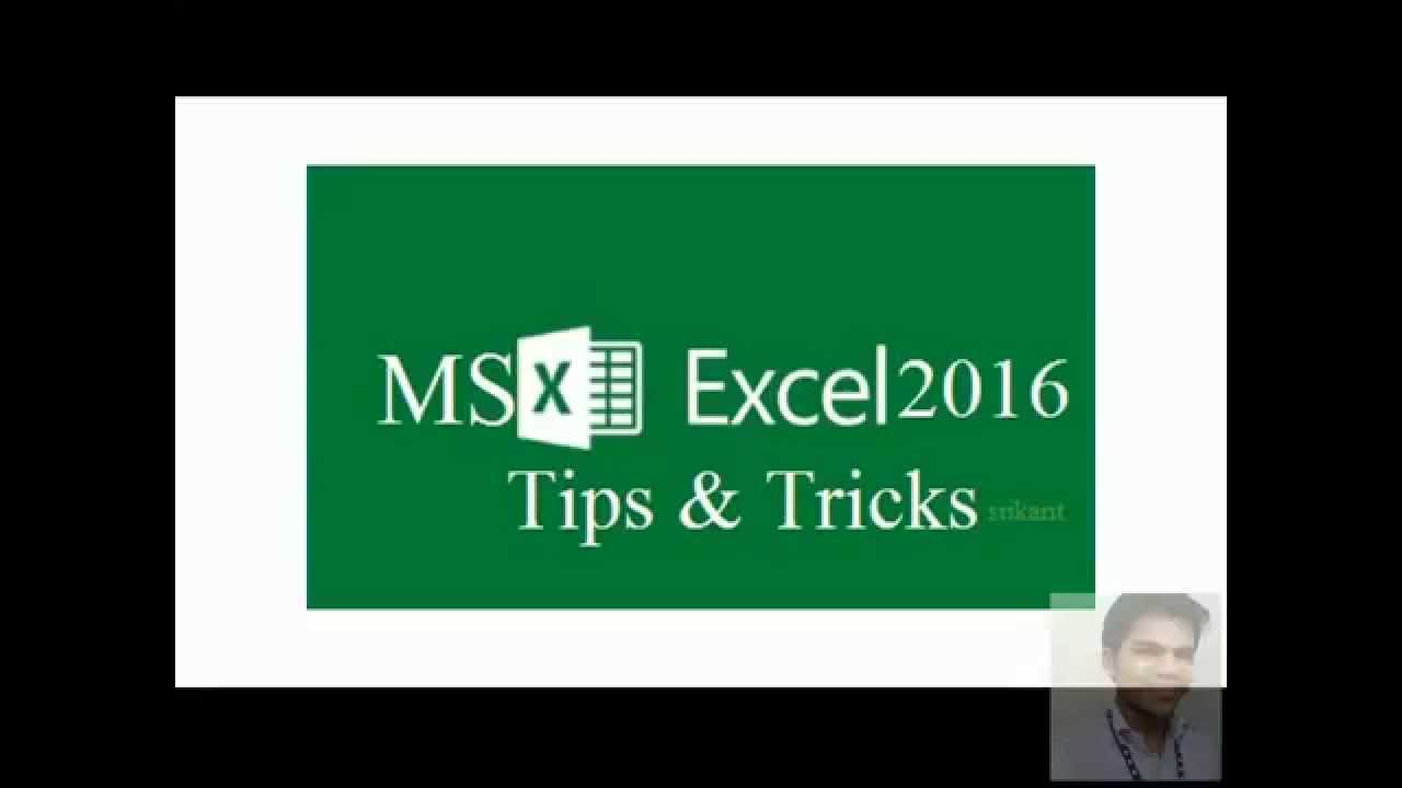 Ms Excel2016 Tricks & Twicks - protect/ Unprotect Excel shee...