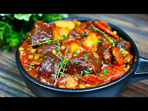 THICK and CHUNKY Beef Stew Recipe - How to make Beef Stew