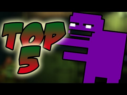 TOP 5 MINIGAME FACTS! - Five Nights at Freddy's 3