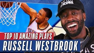 YouTubers React to Russell Westbrook Highlights