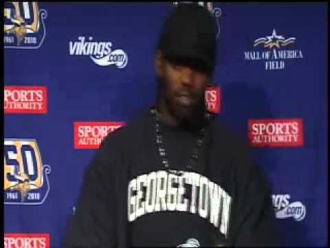 Randy Moss Postgame Press Conference after facing Patriots (full)