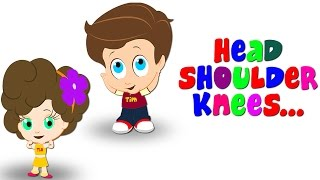 Head Shoulders Knees & Toes | Dance Song For Tiny Tots With Tim & Tia