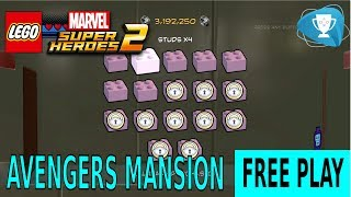 Lego Marvel Super Heroes 2 - FREE PLAY Avengers Mansion Chronopolis