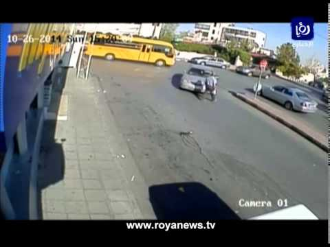 سائق يدهس رجلاً ويفر بعد الحادث