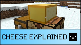 CHEESE EXPLANATION (Minecraft 1.9)