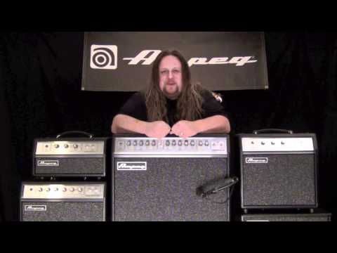 Ampeg GVT Series Guitar Amps - Tone Sample - Clean