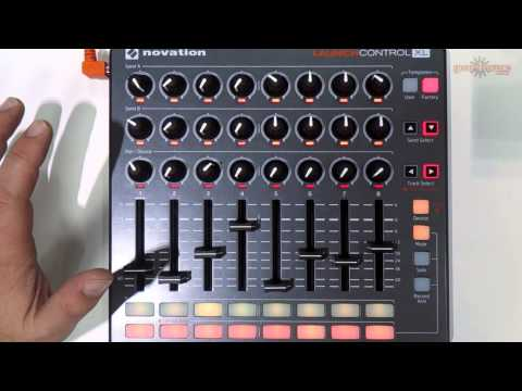 Novation Launch Control XL Exclusive Demo