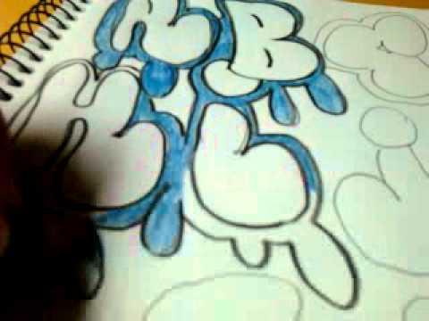 Alfabeto de Letras Graffitis Alfabeto de Graffiti Parte 2