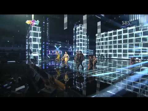 2ne1 [i Love You] sbs 2012 가요대전 The Color Of K-pop 20121229 video