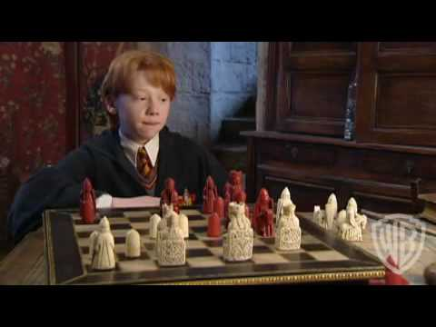 rupert grint discusses chess scene from first potter film