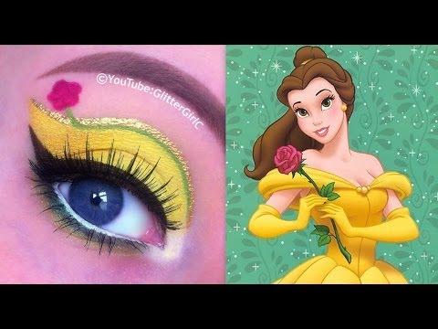 make up návod, líčenie návod, ako byť krásna, líčenie očí, očné tiene, dievčenské veci, princeznovský make up, disney princezná, šípková ruženka