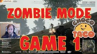 chocoTaco CARRIES ALLSTAR TEAM in Walking Dead ZOMBIE MODE PUBG Promo - Game Recap 1 of 7