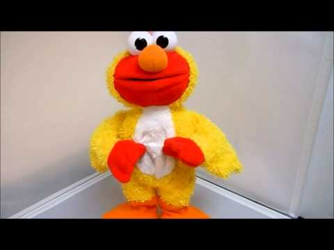 Ebay Auction For Sale Review Fisher-price Sesame Street Chicken Dance Elmo 12 Toy Mattel, 90648, video