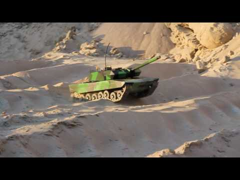 Leopard 2A5 rc tank 720p