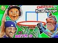 I DELETED MY SON! HELLO NEIGHBOR BASKETBALL trick SHOTS! FGTEEV Beta 3 #2 is SHOCKING! Cheat Codes