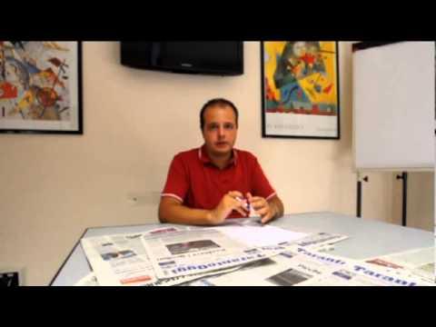 COVIELLO TARANTOOGGI SU PUBBLICITA' ILVA 28.08.12