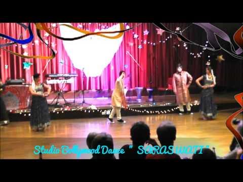Bole Chudiyan✿۩✿ Studio Bollywood India Dance SARASWATI...