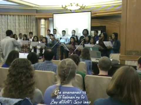 Efa anananao ve - Nanchang Easter 2012- Malagasy-International fellowship - Chine