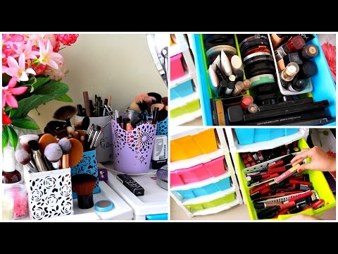My Makeup Collection And Storage | Debasree Banerjee